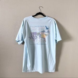 Comfort colors southern fried cotton tee